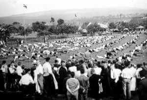 Gauturnfest 1933 in rüdesheim